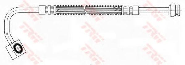 Шланг тормозной TRW PHD 451