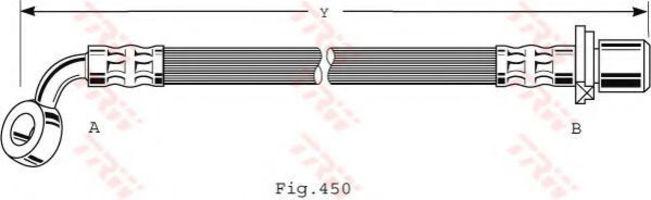 Шланг тормозной TRW PHD476