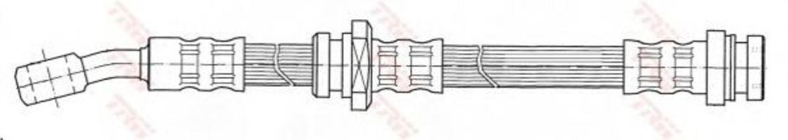 Шланг тормозной TRW PHD 478