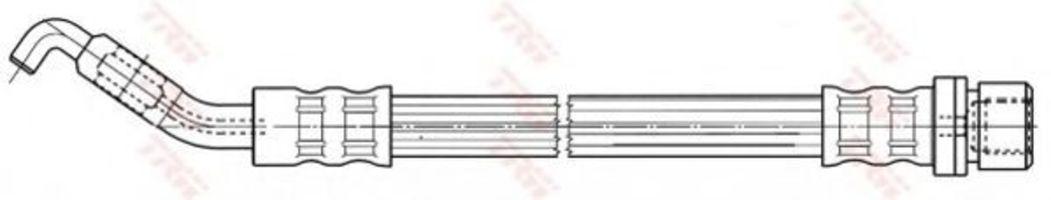 Шланг тормозной TRW PHD535