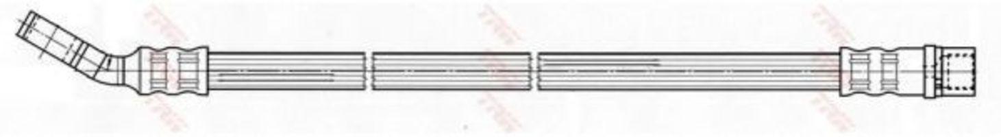 Шланг тормозной TRW PHD539