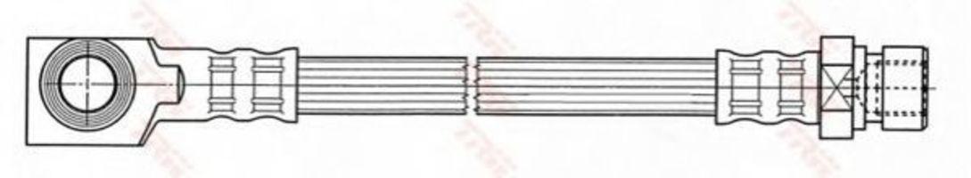 Тормозной шланг TRW PHD7027