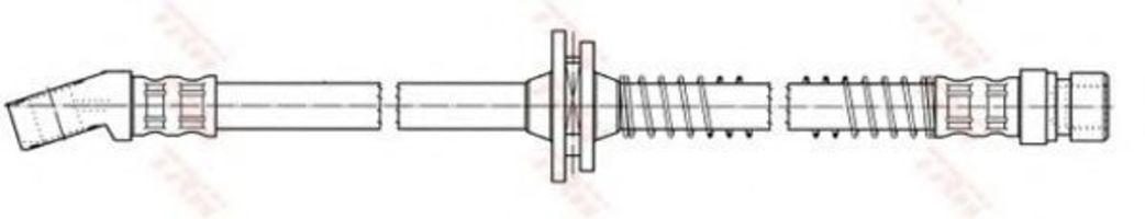Тормозной шланг TRW PHD7042