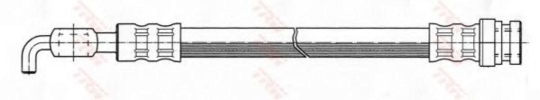 Тормозной шланг TRW PHD765