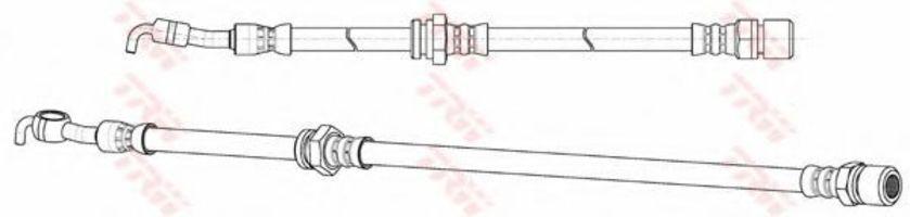 Шланг тормозной TRW PHD 991