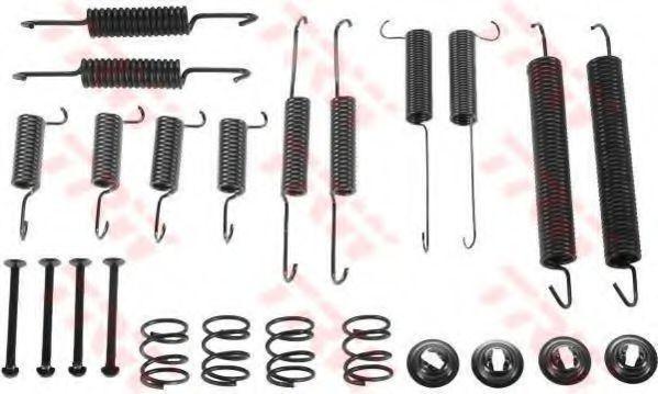 Купить Ремкомплект тормозных колодок TRW SFK237