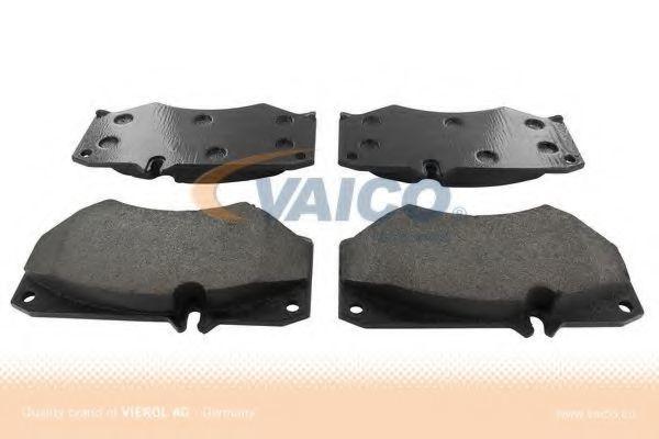 Комплект тормозных колодок, дисковый тормоз VAICO V108114