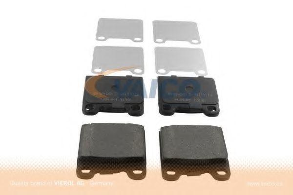 Комплект тормозных колодок, дисковый тормоз VAICO V950048