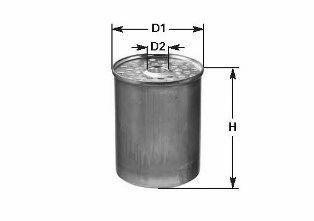 Фильтр топливный CLEAN FILTERS DN 222