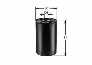 Фильтр топливный CLEAN FILTERS DN 253
