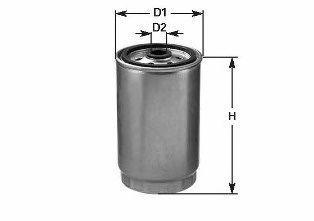 Фильтр топливный CLEAN FILTERS DN323