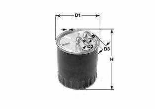 Фильтр топливный CLEAN FILTERS DN2710