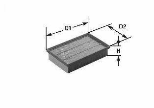 Фильтр воздушный CLEAN FILTERS MA642