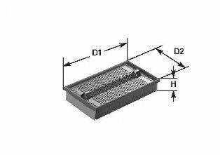 Фильтр воздушный CLEAN FILTERS MA 1389