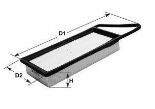 Фильтр воздушный CLEAN FILTERS MA 1390