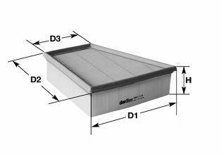 Фильтр воздушный CLEAN FILTERS MA3062