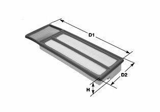 Фильтр воздушный CLEAN FILTERS MA3071