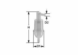 Фильтр топливный CLEAN FILTERS MBNA 007