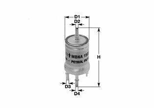 Фильтр топливный CLEAN FILTERS MBNA 1558