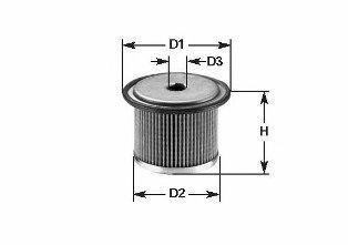 Фильтр топливный CLEAN FILTERS MG095