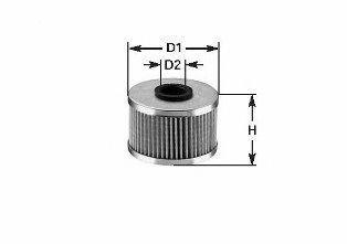 Фильтр топливный CLEAN FILTERS MG1600