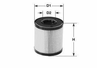 Фильтр топливный CLEAN FILTERS MG1601