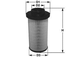 Топливный фильтр CLEAN FILTERS MG1653