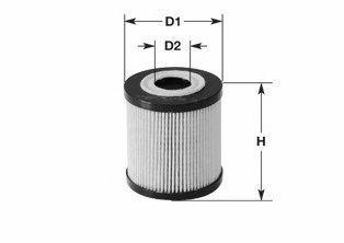 Фильтр топливный CLEAN FILTERS MG 1657