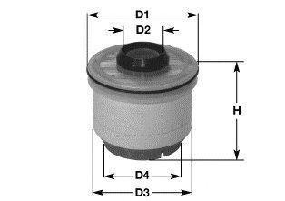 Фильтр топливный CLEAN FILTERS MG1667
