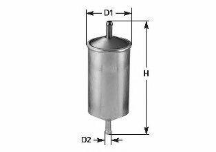 Фильтр топливный CLEAN FILTERS MG 1679