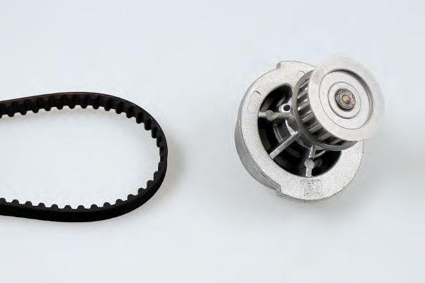 Водяной насос + комплект зубчатого ремня HEPU PK03120