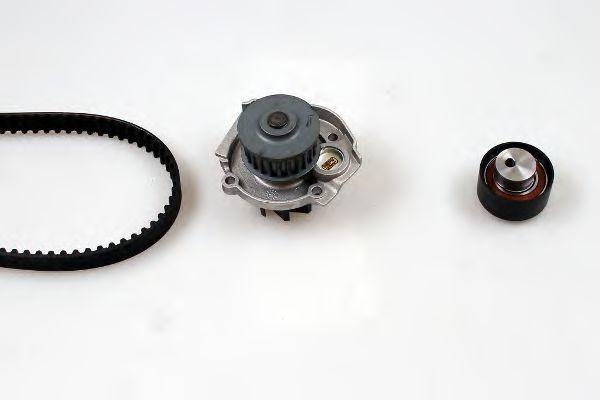 Ремкомплект ремня ГРМ + насос водяной HEPU PK12011