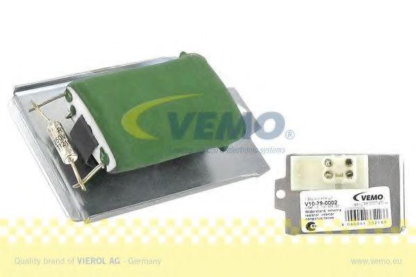Регулятор вентилятора салона VEMO V10790002