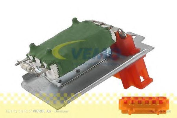 Резистор вентилятора отопителя VEMO V10790004