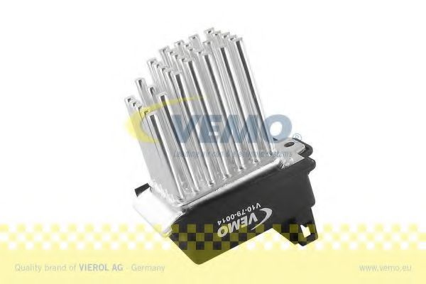 Регулятор, вентилятор салона VEMO V10790014