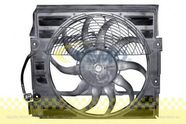Вентилятор, конденсатор кондиционера VEMO V20021072