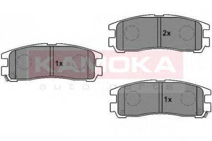 Колодки тормозные KAMOKA JQ1011606