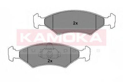 Колодки тормозные KAMOKA JQ1012162