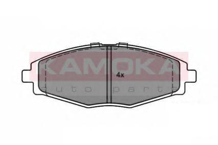 Колодки тормозные KAMOKA JQ1012674