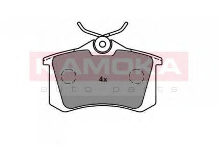 Колодки тормозные дисковые KAMOKA JQ1013576