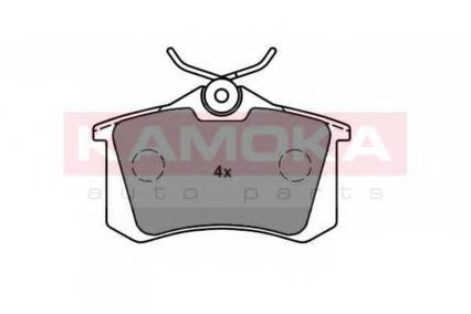 Колодки тормозные KAMOKA JQ1013576