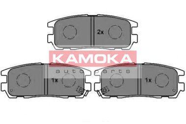 Колодки тормозные KAMOKA JQ1012034