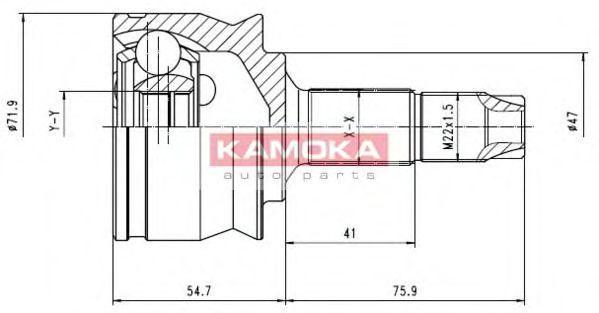 ШРУС KAMOKA 6259