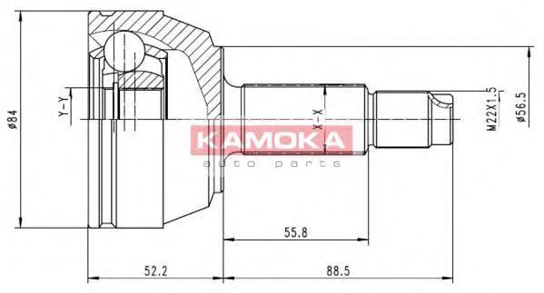 ШРУС KAMOKA 6514