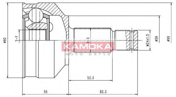 ШРУС KAMOKA 6696