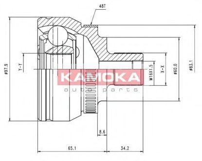 ШРУС KAMOKA 7050