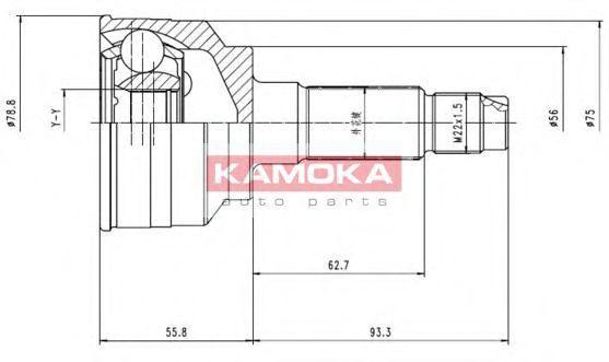 ШРУС KAMOKA 7068