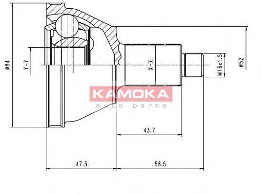 ШРУС KAMOKA 7084