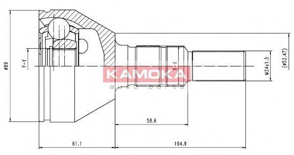 ШРУС KAMOKA 6035