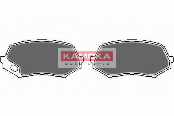Колодки тормозные KAMOKA JQ101123